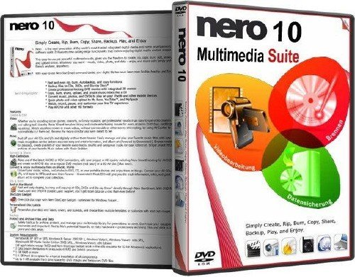 Portable Nero Burning ROM 10.0 (х86/х64) RUS