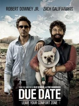 Впритык / Due Date (2010) CAMRip 3gp/mp4
