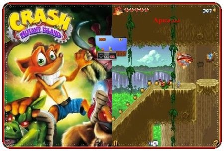Crash Bandicoot: Mutant Island+Touch Screen/Stylus / Крэш бандикут: Остров мутантов